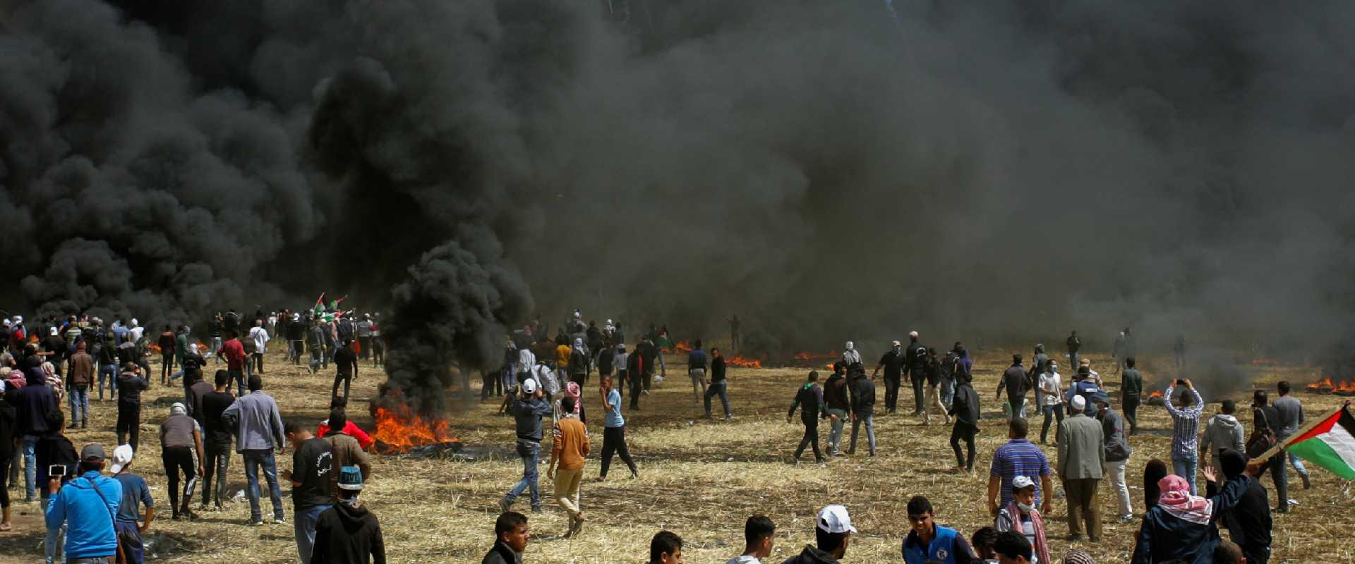 ההפגנות בגבול הרצועה