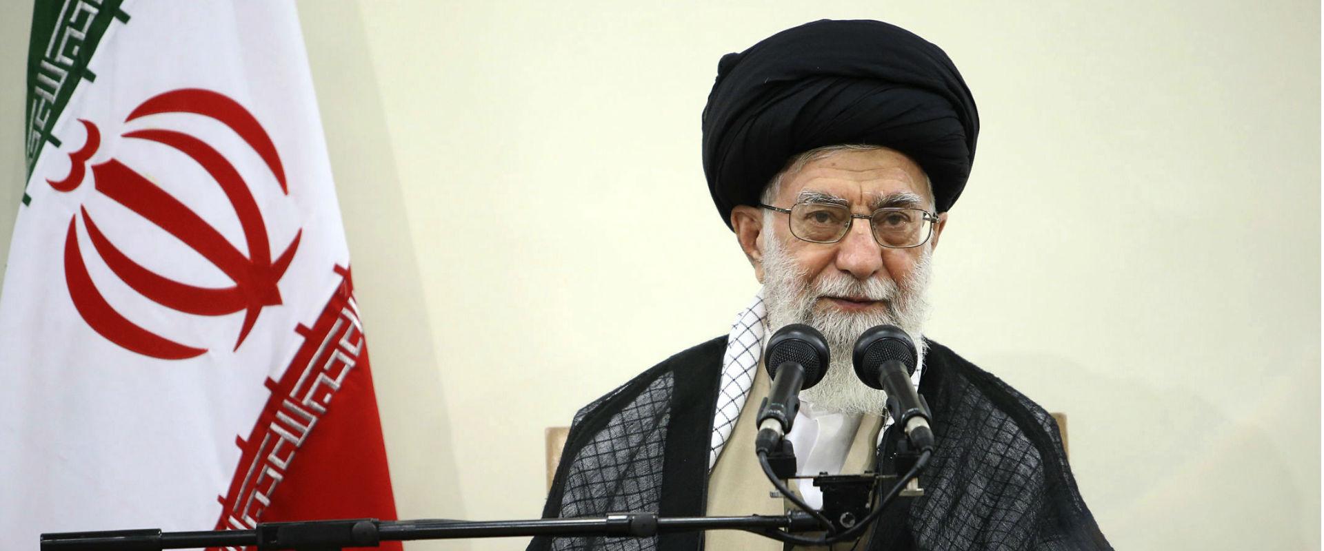 מנהיגה העליון של איראן, איתולה עלי חמינאי