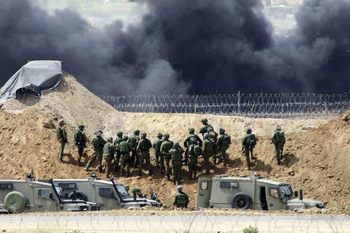 המהומות בגבול הרצועה