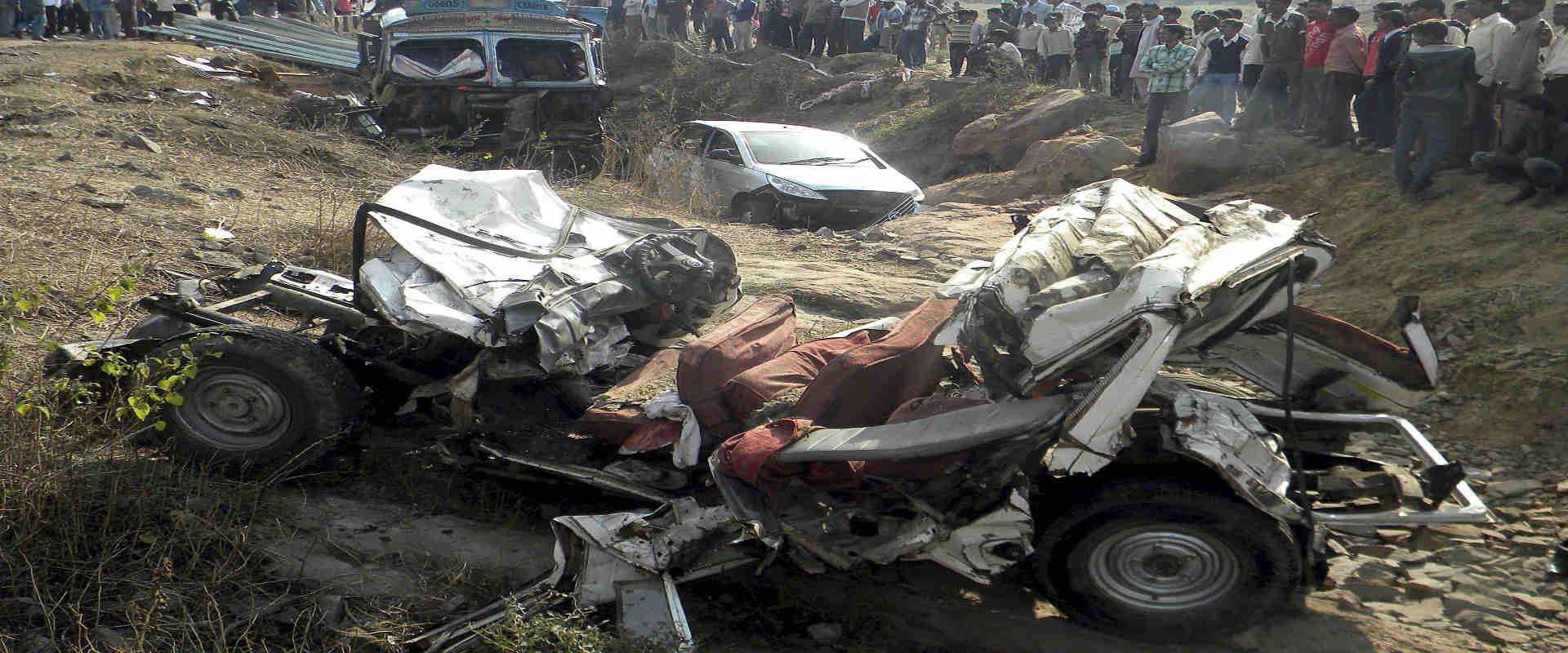 תאונה בהודו