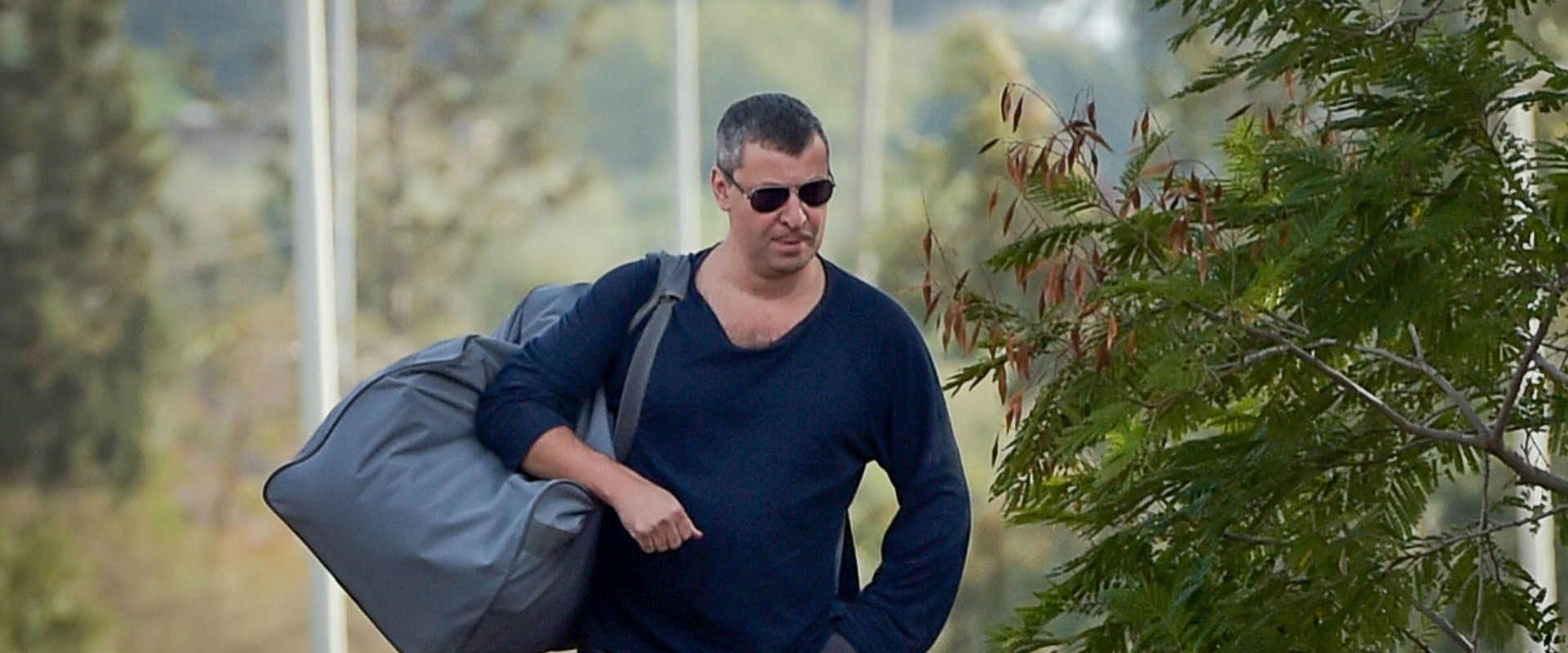 השר לשעבר סטס מיסז'ניקוב לאחר ששוחרר מהכלא