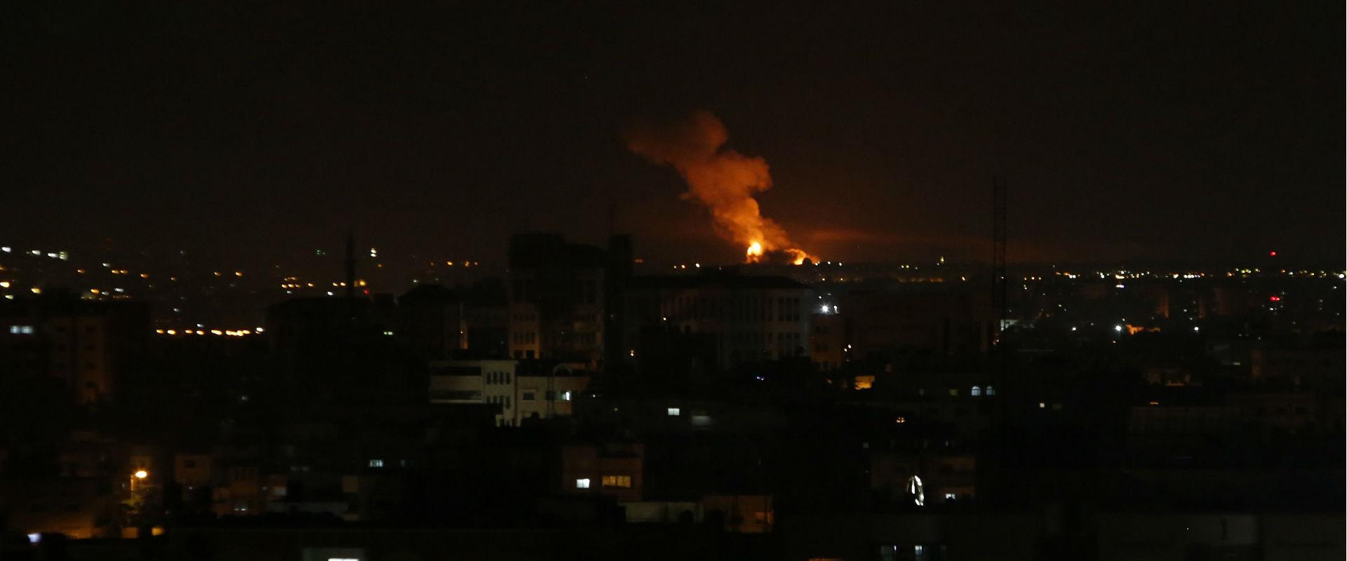 תקיפה ישראלית בעזה, בחודש שעבר